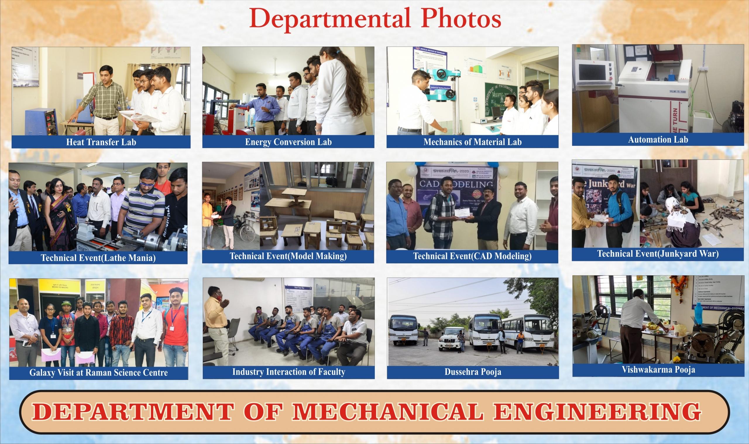 Departmental Photos